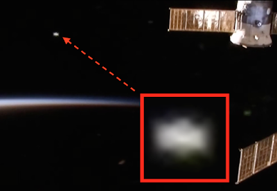 Disc UFO Caught Near International Space Station 2015, UFO Sighting News