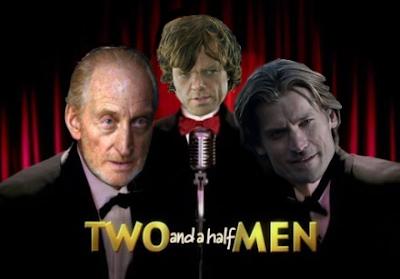 Para las #LannisterFilms. Dos hombres y medio.