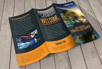 Download Awesome Corporate Brochure Design Templates DeziBug - Adobe indesign brochure templates