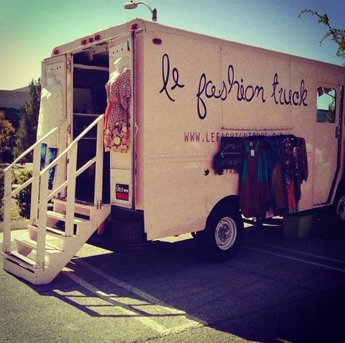Fashion truck stops!