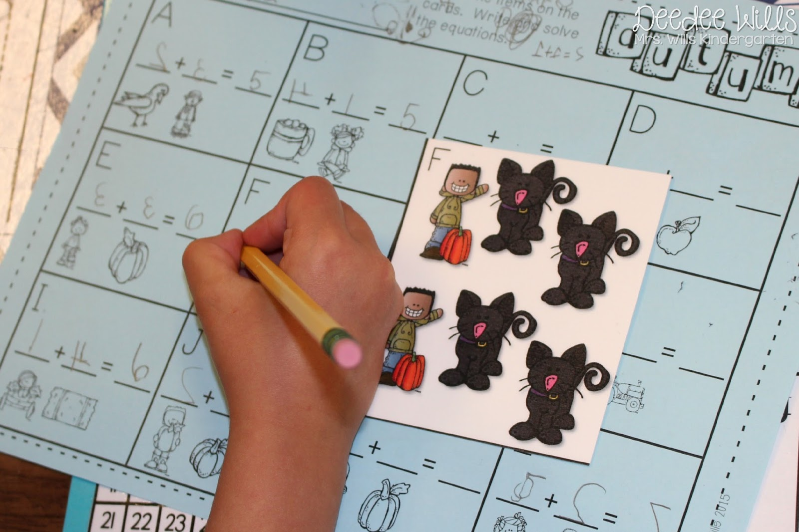 Printable Kindergarten Math Literacy Stations