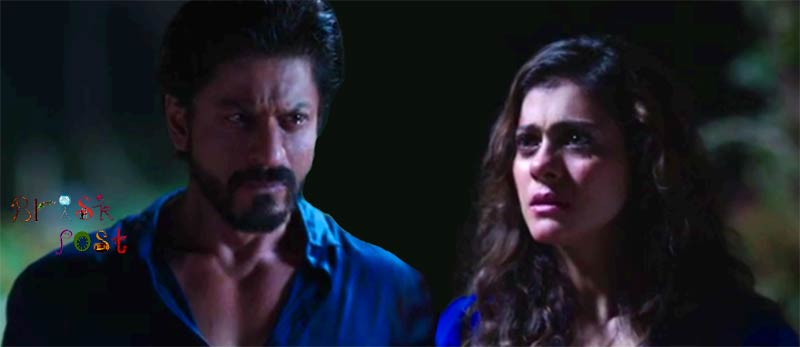 Shahrukh Khan Kajol in Dilwale intense scene