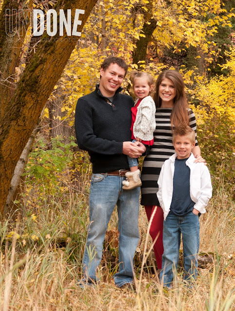 {The Undone Blog} Fall family photos