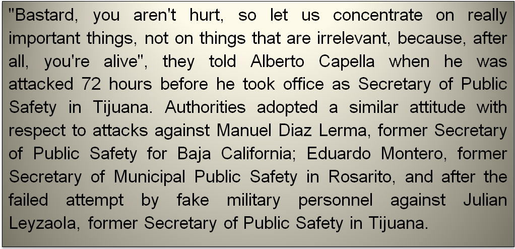 Borderland Beat: Narco-Ordered Attacks on Baja Police Chiefs Were ...