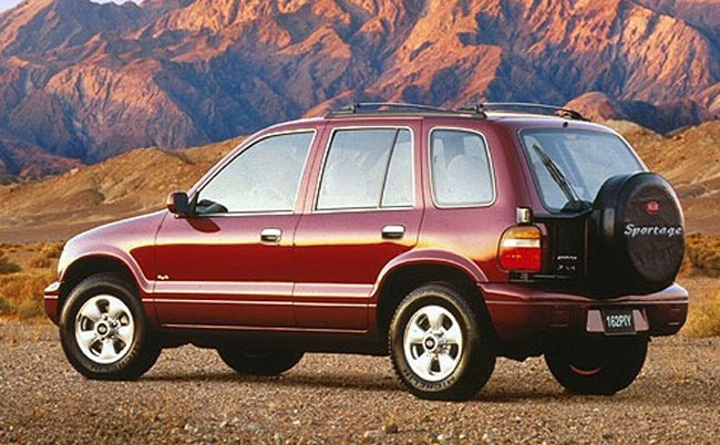 All about cars kia global suvmpv sales by model 1994 2013 the first sportage publicscrutiny Image collections