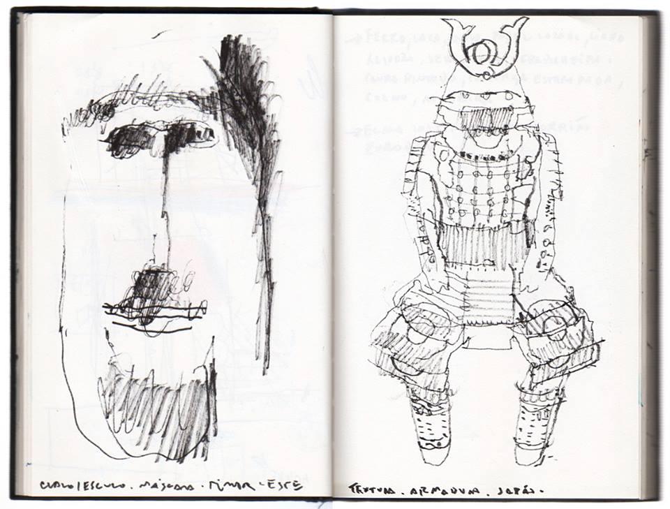 Desenhar é Viajar: diários gráficos no museu do Oriente. 3ª Edição 2017