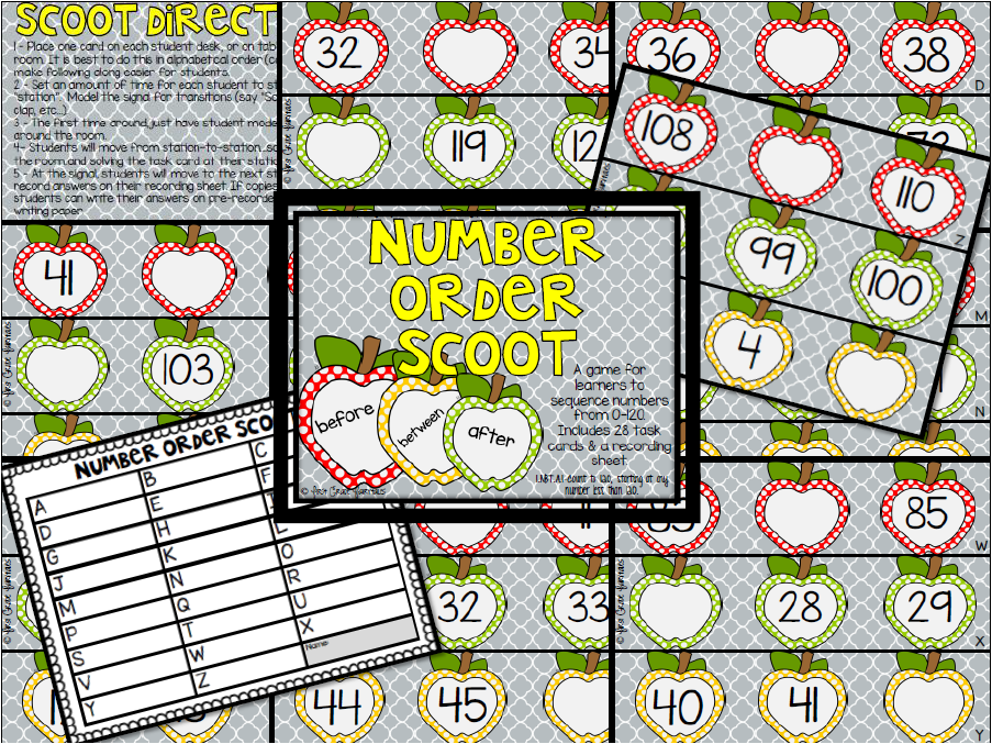 http://www.teacherspayteachers.com/Product/Number-Order-Before-After-Between-SCOOT-1441822