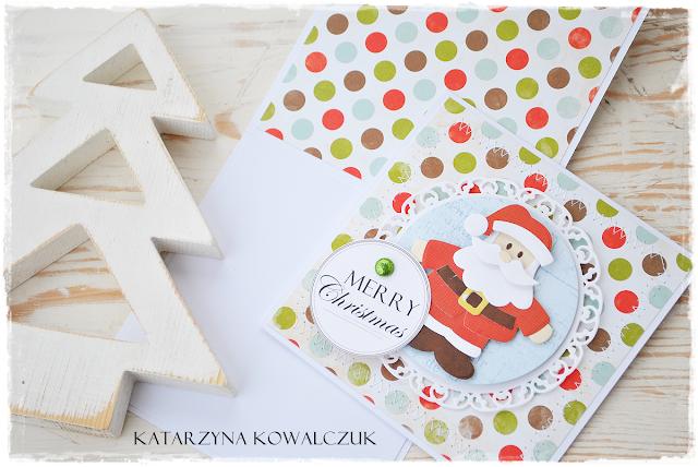 Kartki Świąteczne scrapbooking