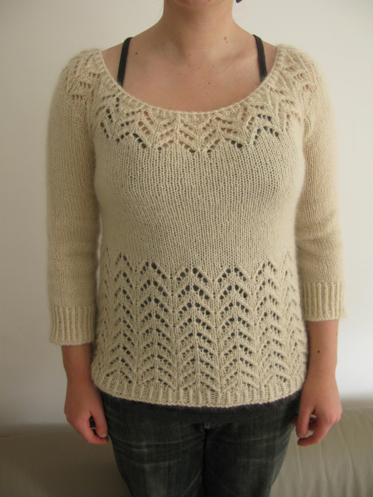 Lace Knitting Patterns For Sweaters : Littletheorem pattern gallery