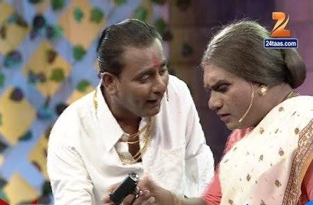 Chala Hawa Yeu Dya : Sagar Karande Doing Vastav Scene