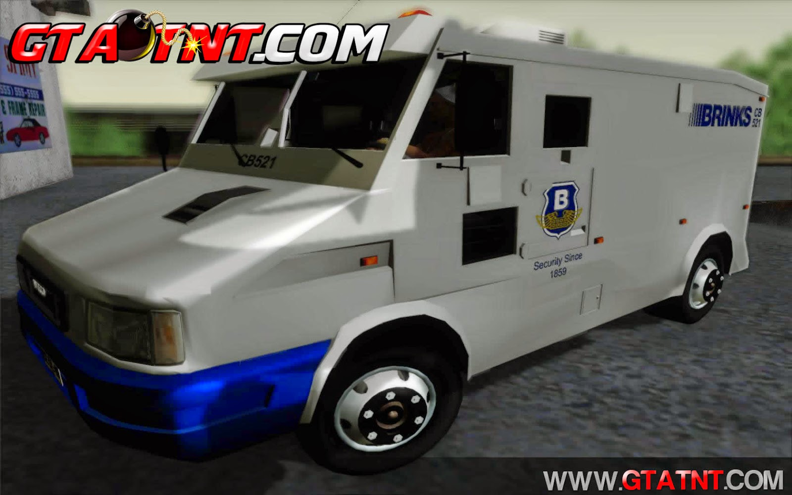 Iveco Daily Brinks para GTA San Andreas