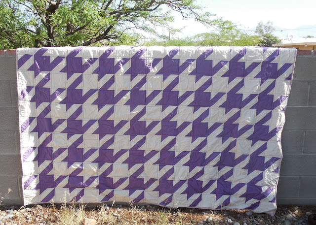 hounds tooth quilt