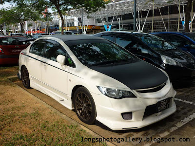 Modified Honda Civic FD2