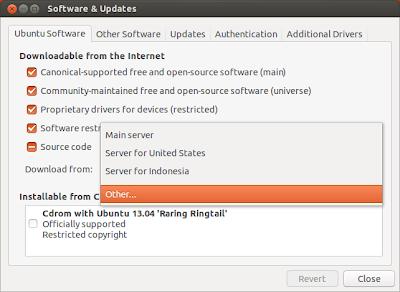 Repositori Ubuntu 13.04
