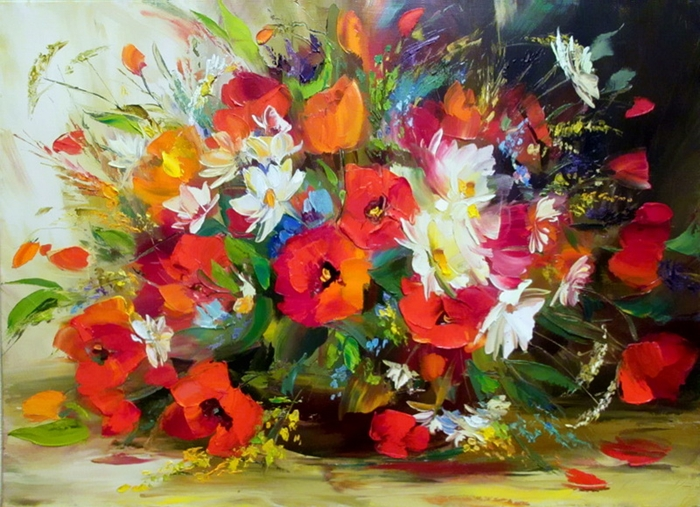 Александр Сергеев - Alexander Sergeev 1968 | Russian Still life painter