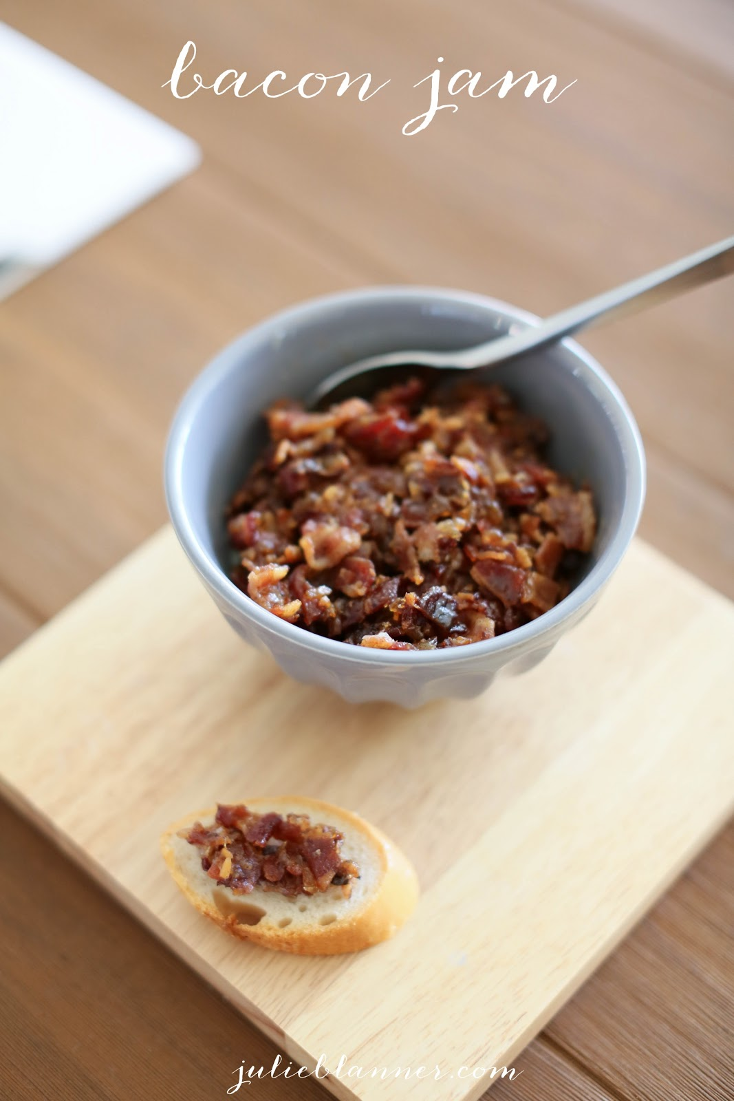 love bacon then this jam s for you spread a little bacon jam on a ...