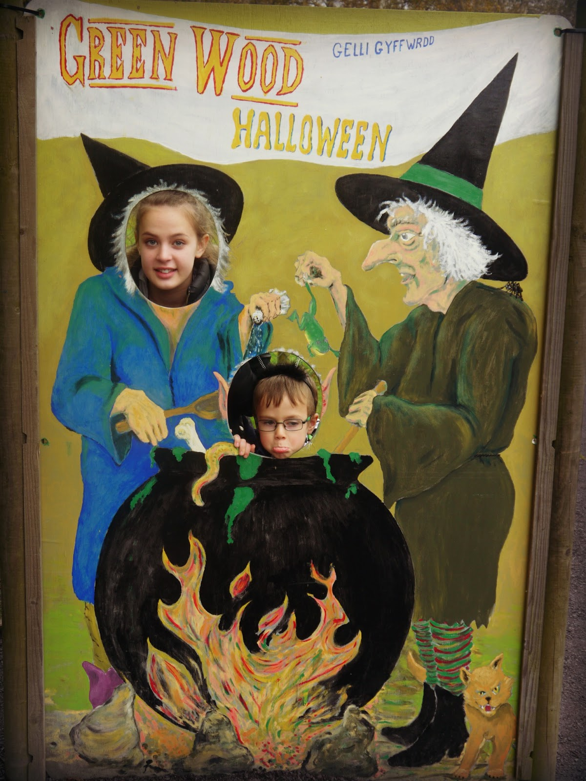 Halloween at Greenwood Forest Park