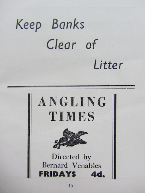 Keep Banks Clear of Litter