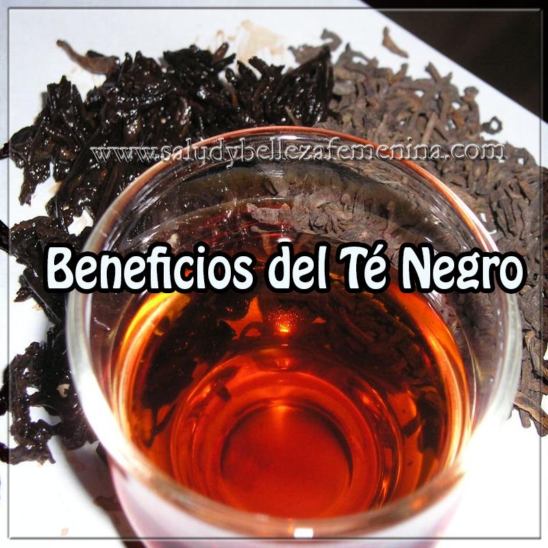 Salud y bienestar en cuerpo y mente,  beneficios del té negro