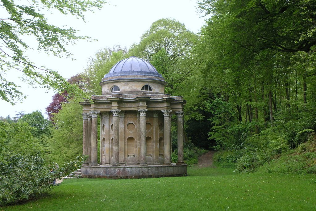 Follies In The Garden Of Stourhead.