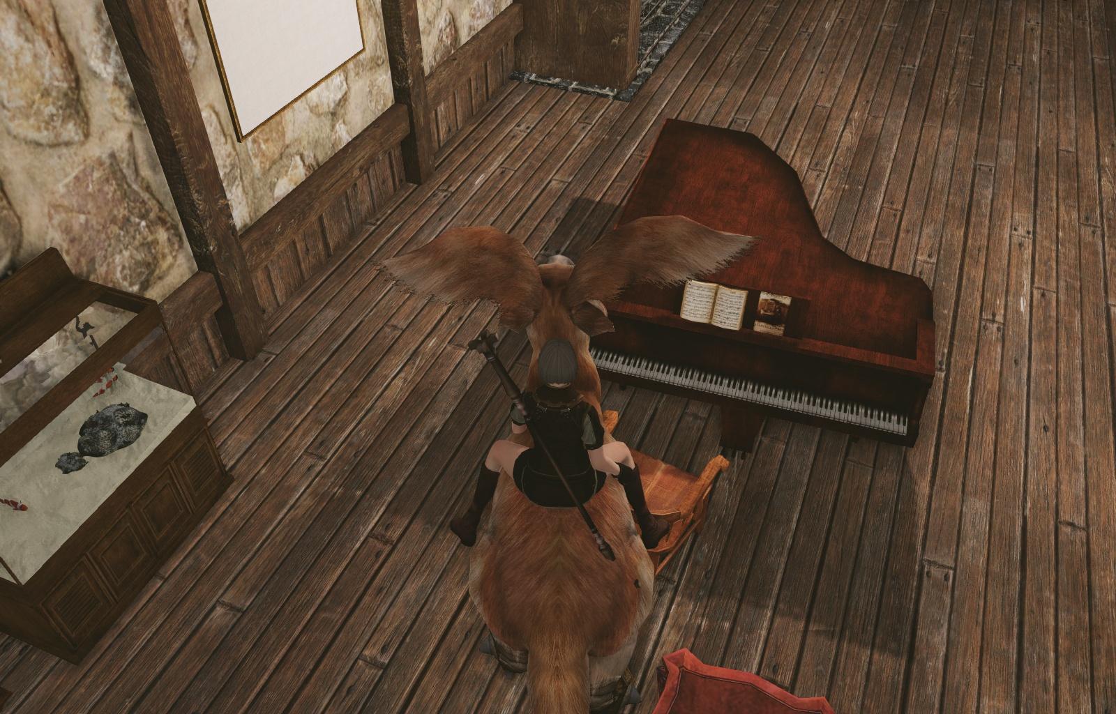 Archeage画像ピアノ