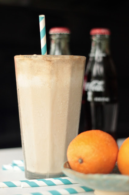 Rum and Coke Ice Cream Float | SongofSpiceandFire