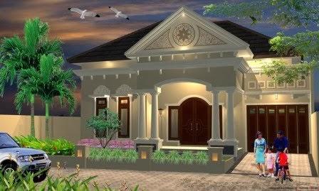 GAMBAR DESAIN RUMAH KLASIK TERBARU Model Rumah Klasik 2014 - MODEL ...