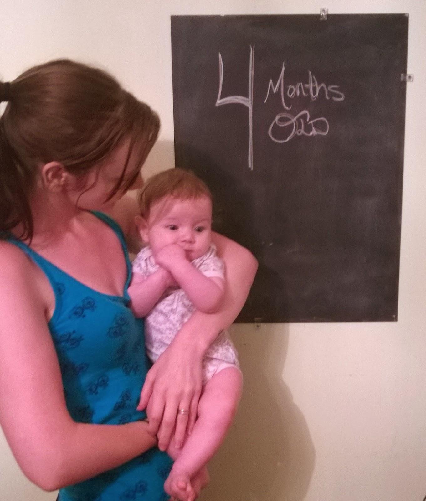 4 месяца ребенку: