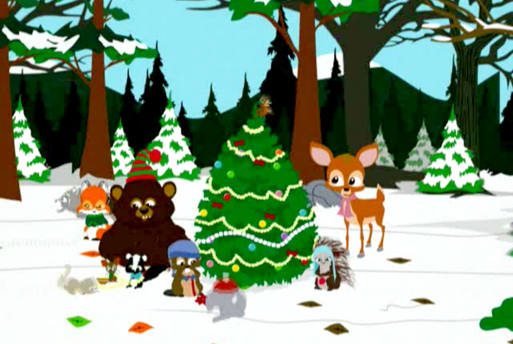 Misfit Robot Daydream: South Park - Woodland Critter Christmas (2004)