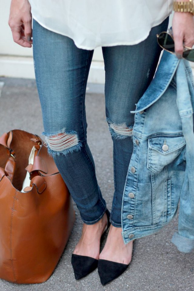 Shopping bag marrón