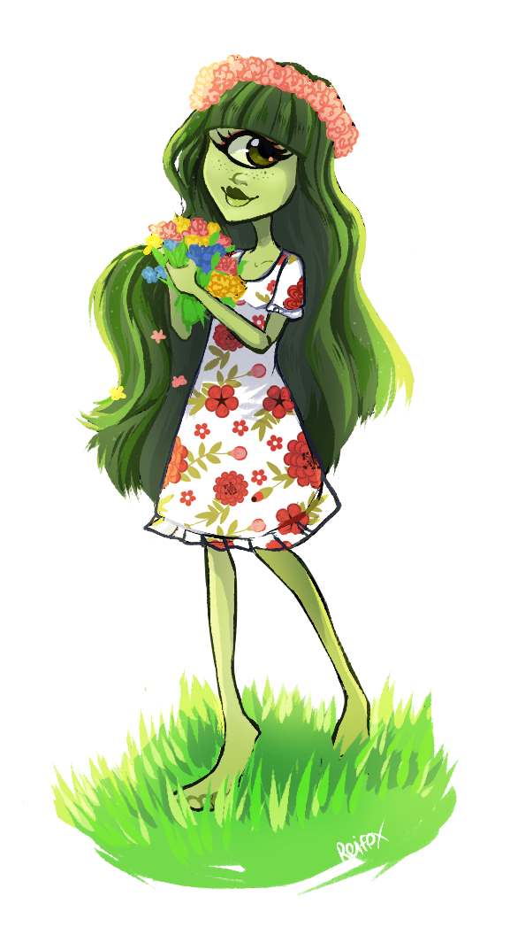vestuario de primavera de iris clops