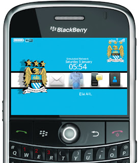 Download Tema Blackberry Manchester City