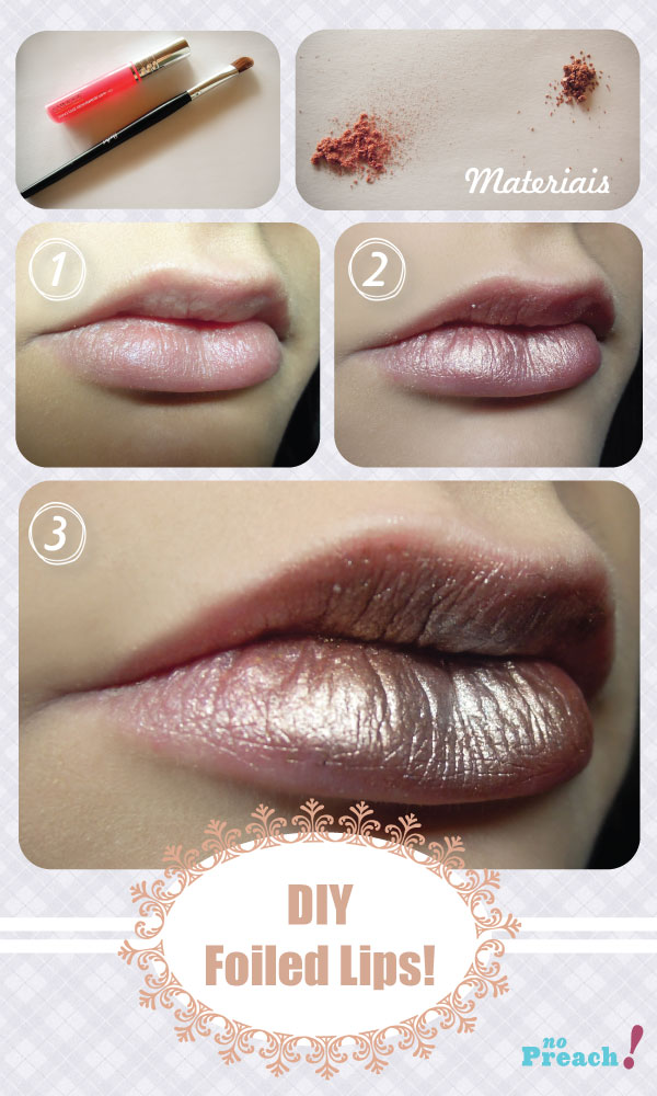 DIY: Folied lips