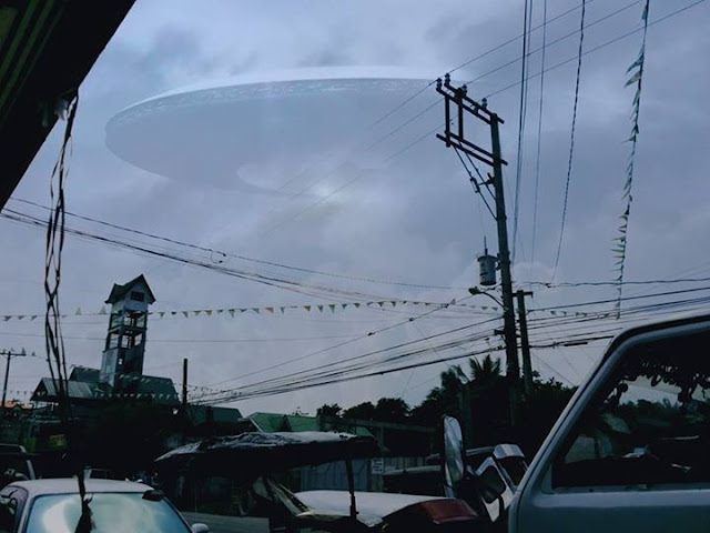 Alleged Flying Alien Object Seen in Cavite Goes Viral
