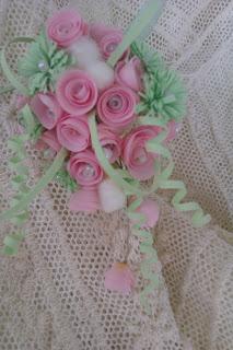 букет невесты мини