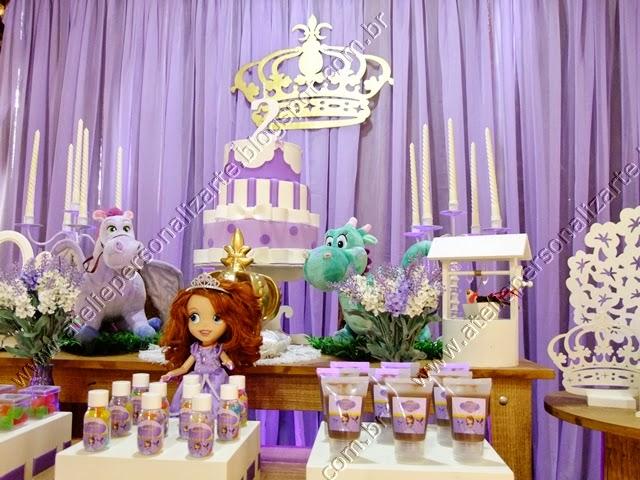 Decoração Princesa Sofia rústico Porto Alegre
