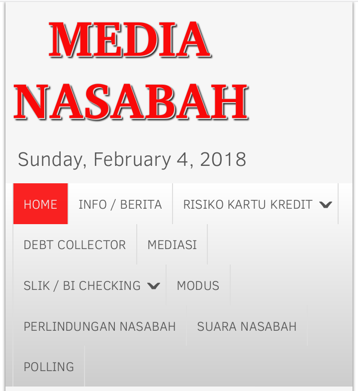 Website MEDIA NASABAH