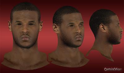 NBA 2K13 Dion Waiters Cyberface Mod