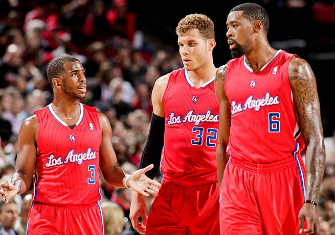 Paul Griffin Jordan Los Angeles Clippers ver gratis en vivo online free live NBA partidos games LAC