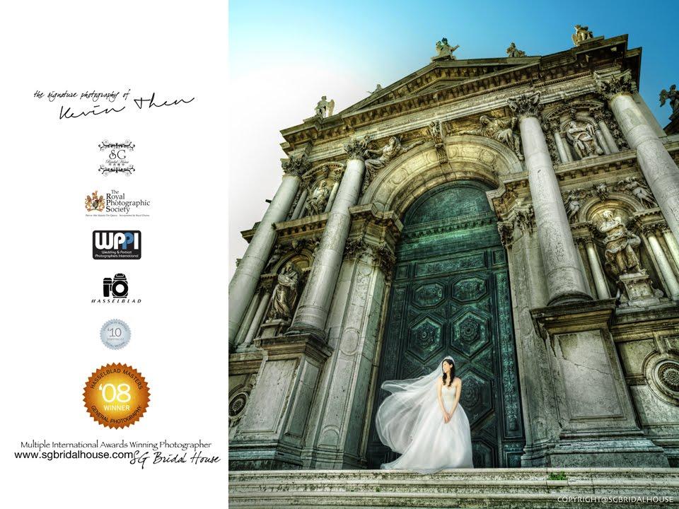 Destination Pre wedding Italy SG Bridal