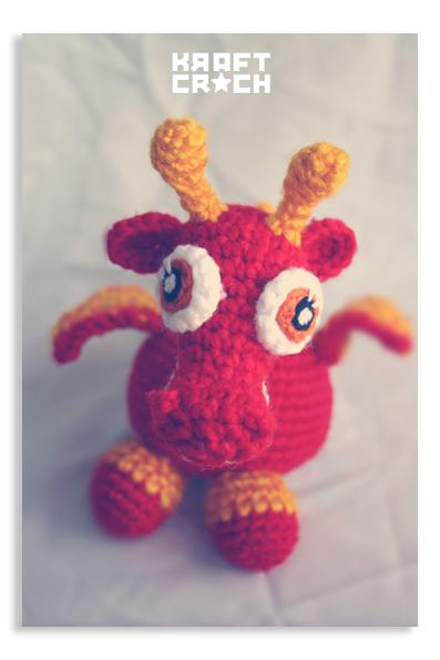 Dragon Rojo Amigurumi : kraftcroch: ? dragones y bebes / dragons and babies