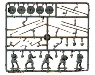 Gripping Beast Dark Age Warriors Sprue