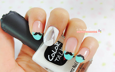 Cute Nail sticker! Drawing nail stickers, lala nail stickers