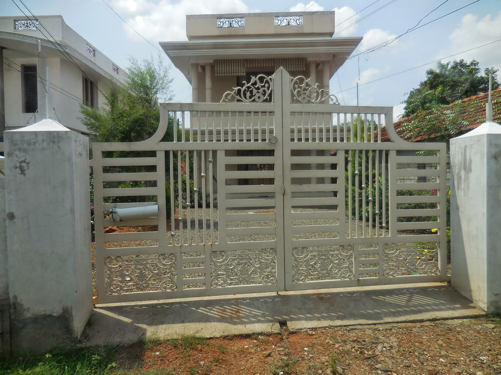 Kerala gate designs kerala gate designs for Home gate design