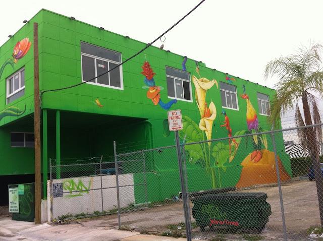 Street Art By Ukrainian Artists Interesni Kazki On The Streets Of Miami For Art Basel '13. 5