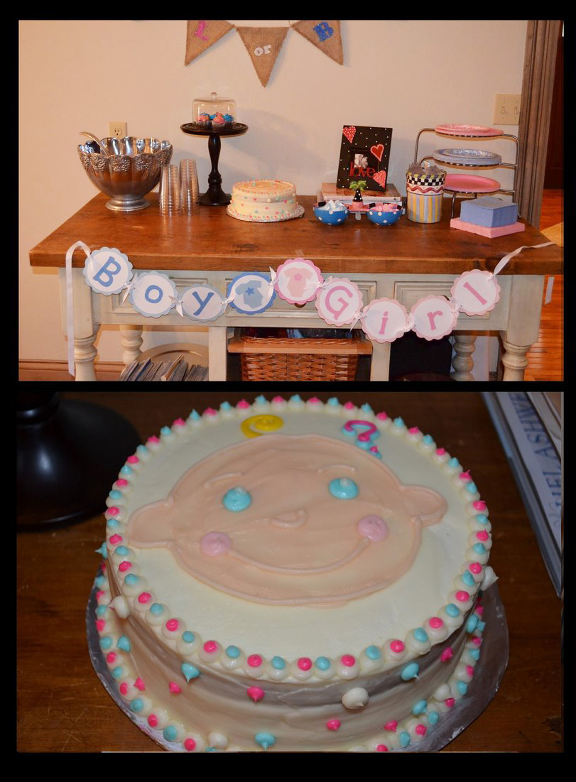 5m creations  gender reveal party decorations