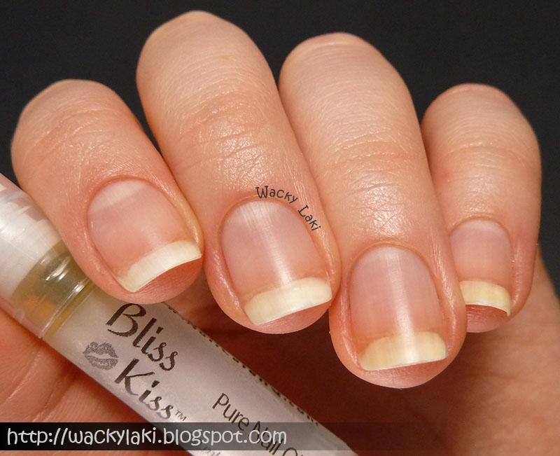 Wacky Laki: Bliss Kiss Pure Nail Oil Review