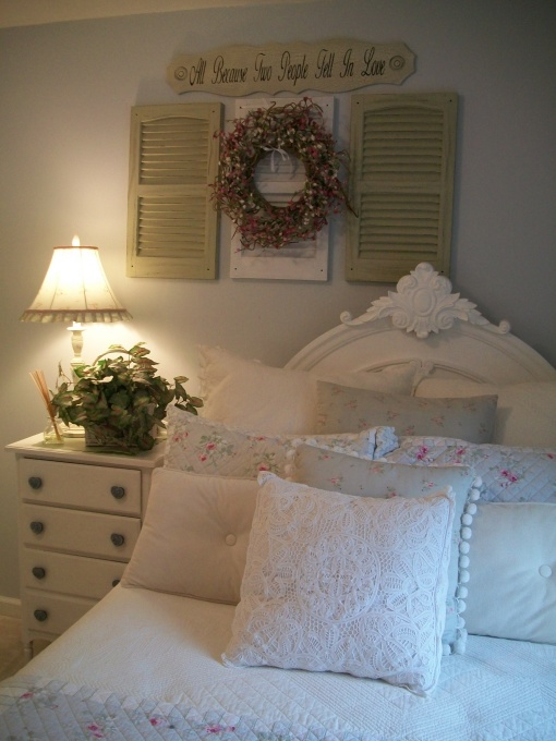 Shabby Chic Style Home Tour Debbiedoos