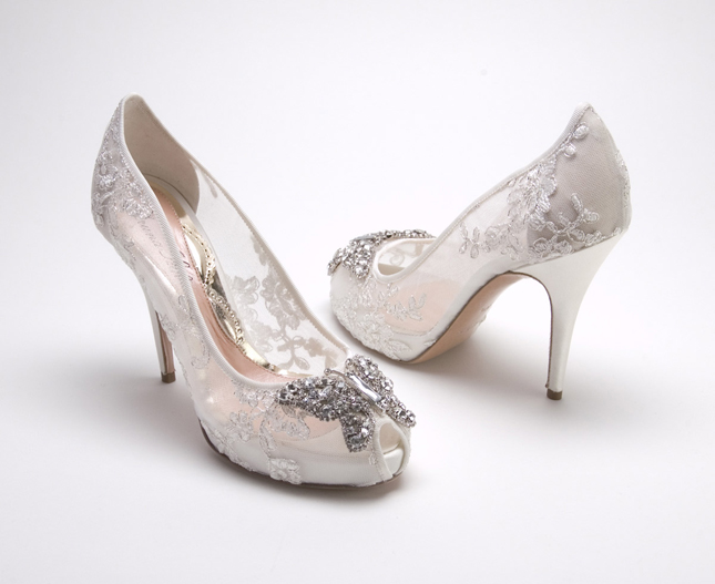 Single Heart Bride Custom Shoe 92