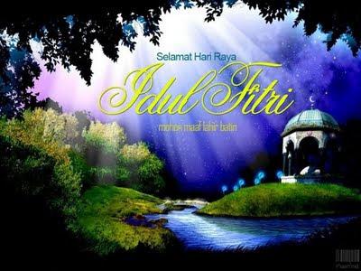 selamat hari raya idul fitri 1433 H 2012 masehi